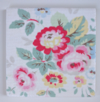Ceramic Wall Tiles Made With Cath Kidston Trailing Floral in White